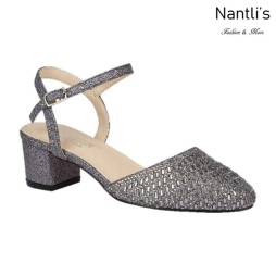 BL-Olivia-26 Pewter Zapatos de Mujer Mayoreo Wholesale Women Heels Shoes Nantlis
