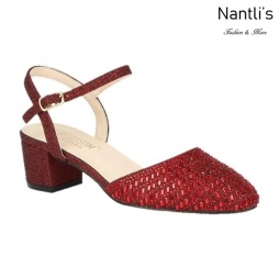BL-Olivia-26 Red Zapatos de Mujer Mayoreo Wholesale Women Heels Shoes Nantlis