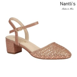 BL-Olivia-26 Rose Gold Zapatos de Mujer Mayoreo Wholesale Women Heels Shoes Nantlis