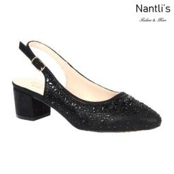 BL-Olivia-30 Black Zapatos de Mujer Mayoreo Wholesale Women Heels Shoes Nantlis