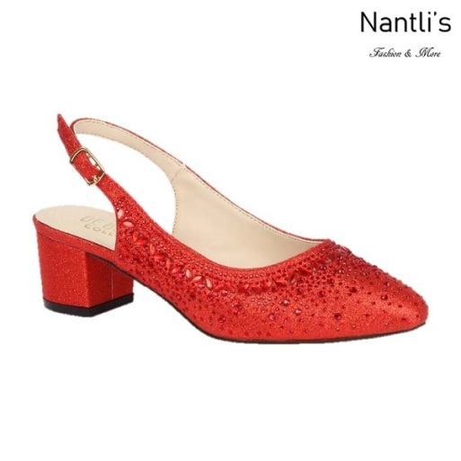 BL-Olivia-30 Red Zapatos de Mujer Mayoreo Wholesale Women Heels Shoes Nantlis