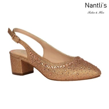 BL-Olivia-30 Rose gold Zapatos de Mujer Mayoreo Wholesale Women Heels Shoes Nantlis