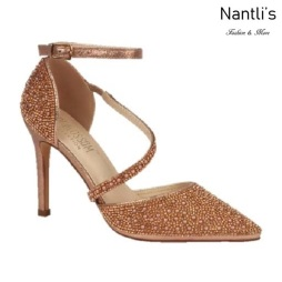 BL-Reese-5 Rose Gold Zapatos de Mujer Mayoreo Wholesale Women Heels Bridal Shoes Nantlis