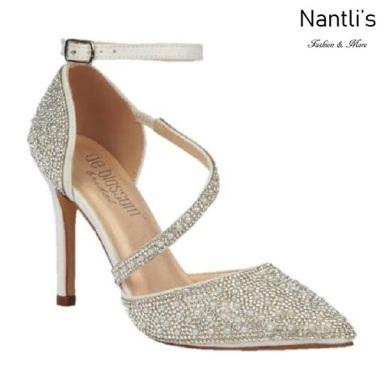 BL-Reese-5B White Zapatos de Mujer Mayoreo Wholesale Women Heels Bridal Shoes Nantlis