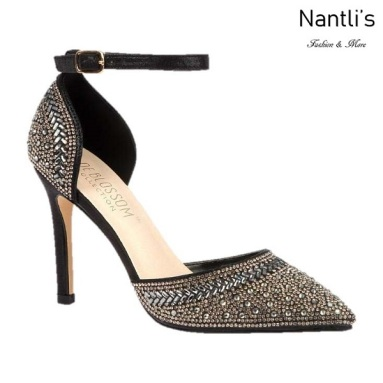 BL-Renzo-126 Black Zapatos de Mujer Mayoreo Wholesale Women Heels Shoes Nantlis