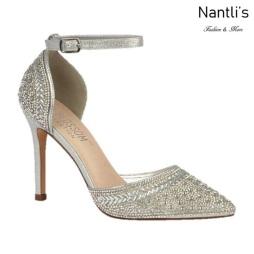 BL-Renzo-126 Silver Zapatos de Mujer Mayoreo Wholesale Women Heels Bridal Shoes Nantlis