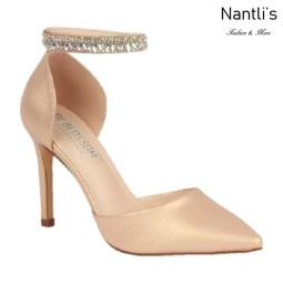 BL-Renzo-65 Champagne Zapatos de Mujer Mayoreo Wholesale Women Heels Bridal Shoes Nantlis