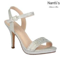 BL-Robin-205 Silver Zapatos de Mujer Mayoreo Wholesale Women Heels Bridal Shoes Nantlis