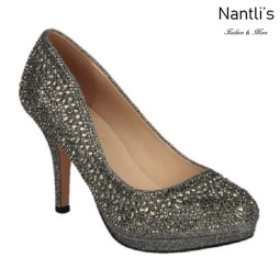 BL-Robin-267 Pewter Zapatos de Mujer Mayoreo Wholesale Women Heels Shoes Nantlis
