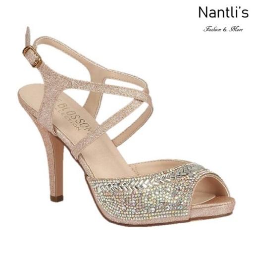 BL-Robin-349 Blush Zapatos de Mujer Mayoreo Wholesale Women Heels Bridal Shoes Nantlis