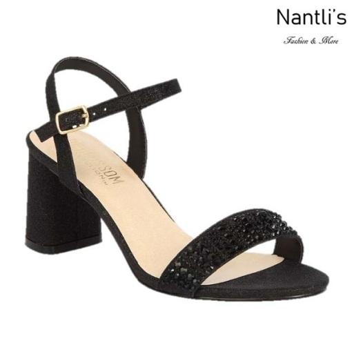 BL-Sofia-53 Black Zapatos de Mujer Mayoreo Wholesale Women Heels Shoes Nantlis