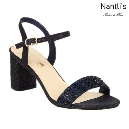 BL-Sofia-53 Navy Zapatos de Mujer Mayoreo Wholesale Women Heels Shoes Nantlis