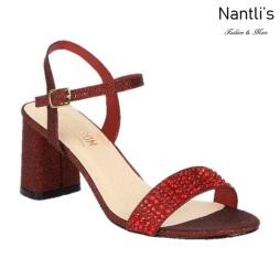 BL-Sofia-53 Wine Zapatos de Mujer Mayoreo Wholesale Women Heels Shoes Nantlis