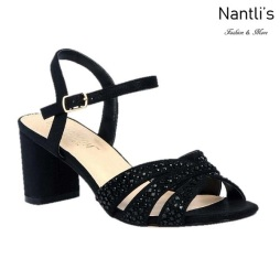 BL-Sofia-59 Black Zapatos de Mujer Mayoreo Wholesale Women Heels Shoes Nantlis