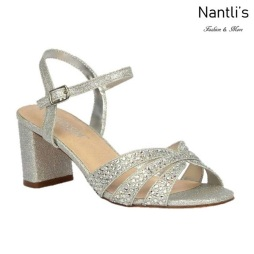 BL-Sofia-59 Silver Zapatos de Mujer Mayoreo Wholesale Women Heels Shoes Nantlis