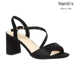 BL-Sofia-60 Black Zapatos de Mujer Mayoreo Wholesale Women Heels Shoes Nantlis