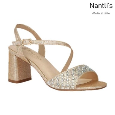 BL-Sofia-60 Champagne Zapatos de Mujer Mayoreo Wholesale Women Heels Shoes Nantlis