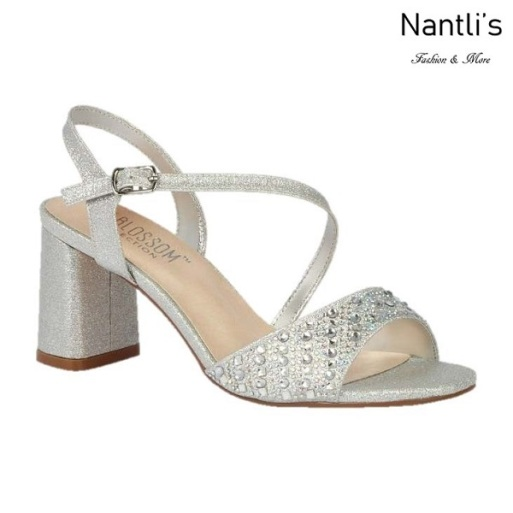 BL-Sofia-60 Silver Zapatos de Mujer Mayoreo Wholesale Women Heels Shoes Nantlis