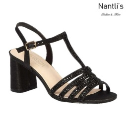 BL-Sofia-68 Black Zapatos de Mujer Mayoreo Wholesale Women Heels Shoes Nantlis