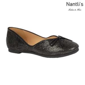 BL-Terra-2 Black Zapatos de Mujer Mayoreo Wholesale Women flats Shoes Nantlis
