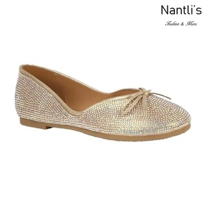 BL-Terra-2 Champagne Zapatos de Mujer Mayoreo Wholesale Women flats Shoes Nantlis