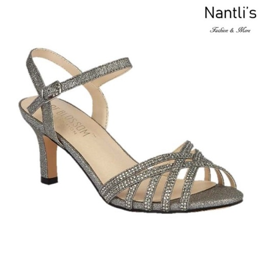 BL-Valerie-16 Pewter Zapatos de Mujer Mayoreo Wholesale Women Heels Shoes Nantlis