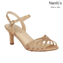 BL-Valerie-16 Rose Gold Zapatos de Mujer Mayoreo Wholesale Women Heels Shoes Nantlis