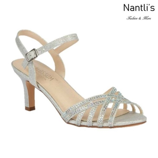 BL-Valerie-16 Silver Zapatos de Mujer Mayoreo Wholesale Women Heels Shoes Nantlis