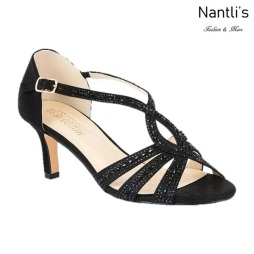 BL-Valerie-3 Black Zapatos de Mujer Mayoreo Wholesale Women Heels Shoes Nantlis