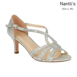 BL-Valerie-3 Silver Zapatos de Mujer Mayoreo Wholesale Women Heels Shoes Nantlis