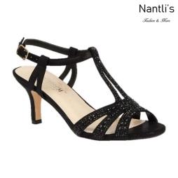 BL-Vero-76 Black Zapatos de Mujer Mayoreo Wholesale Women Heels Shoes Nantlis