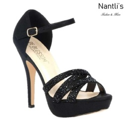 BL-Vice-282 Black Zapatos de Mujer Mayoreo Wholesale Women Heels Shoes Nantlis