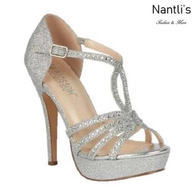 BL-Vice-283 Silver Zapatos de Mujer Mayoreo Wholesale Women Heels Bridal Shoes Nantlis