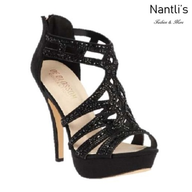 BL-Vice-285 Black Zapatos de Mujer Mayoreo Wholesale Women Heels Shoes Nantlis