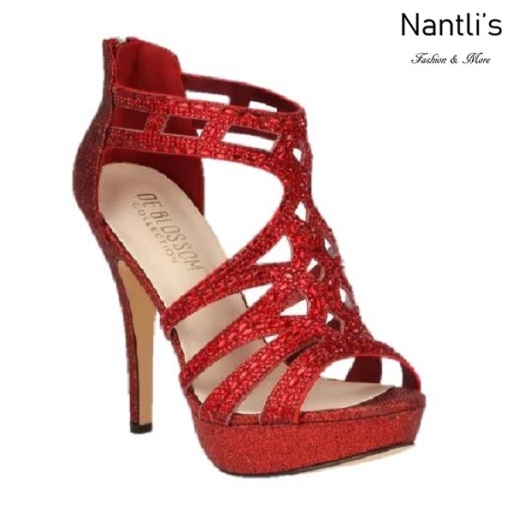 BL-Vice-285 Red Zapatos de Mujer Mayoreo Wholesale Women Heels Shoes Nantlis