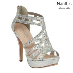 BL-Vice-285 Silver Zapatos de Mujer Mayoreo Wholesale Women Heels Bridal Shoes Nantlis