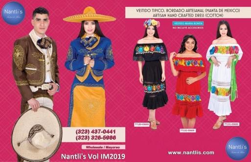 Catalogo Nantlis Vol IM2019 Nantlis Western Wear Productos de Mexico Page 001-140