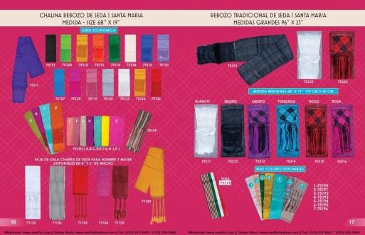 Catalogo Nantlis Vol IM2019 Nantlis Western Wear Productos de Mexico Page 016-017