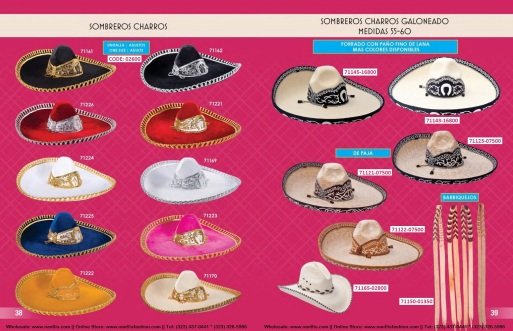 Catalogo Nantlis Vol IM2019 Nantlis Western Wear Productos de Mexico Page 038-039