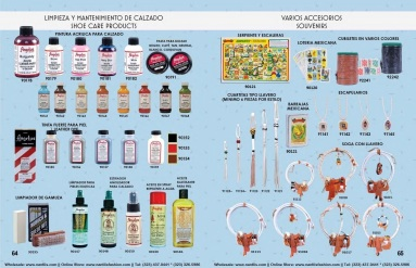 Catalogo Nantlis Vol IM2019 Nantlis Western Wear Productos de Mexico Page 064-065