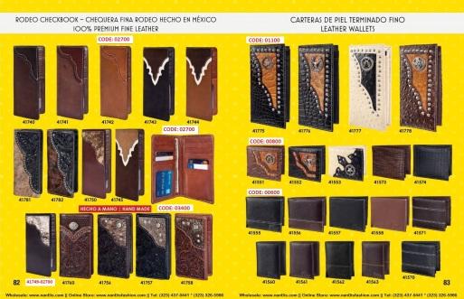 Catalogo Nantlis Vol IM2019 Nantlis Western Wear Productos de Mexico Page 082-083