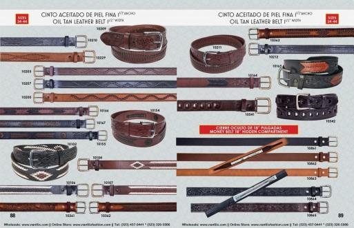 Catalogo Nantlis Vol IM2019 Nantlis Western Wear Productos de Mexico Page 088-089