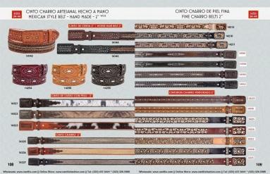 Catalogo Nantlis Vol IM2019 Nantlis Western Wear Productos de Mexico Page 108-109
