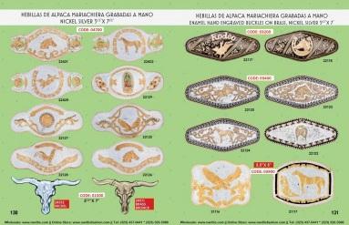 Catalogo Nantlis Vol IM2019 Nantlis Western Wear Productos de Mexico Page 130-131