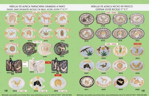 Catalogo Nantlis Vol IM2019 Nantlis Western Wear Productos de Mexico Page 132-133
