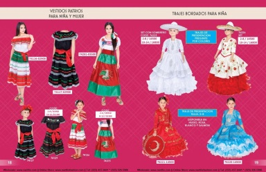 Catalogo Nantlis Vol IM2019 Nantlis Western Wear Productos de Mexico Page 018-019