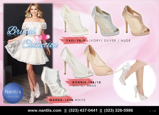 Catalogo Nantlis Bridal Shoes Collection BL2019_Page_19
