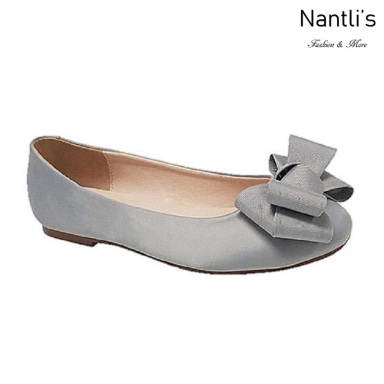 BL-Baba-67 Silver Zapatos de Novia Mayoreo Wholesale Women flats Shoes Nantlis Bridal shoes