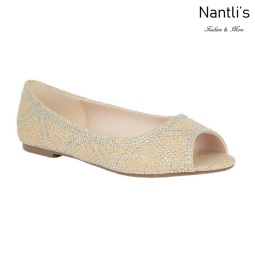 BL-Baba-70 Nude Zapatos de Novia Mayoreo Wholesale Women flats Shoes Nantlis Bridal shoes