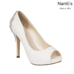 BL-Barbara-66B White Zapatos de novia Mayoreo Wholesale Women Heels Shoes Nantlis Bridal shoes